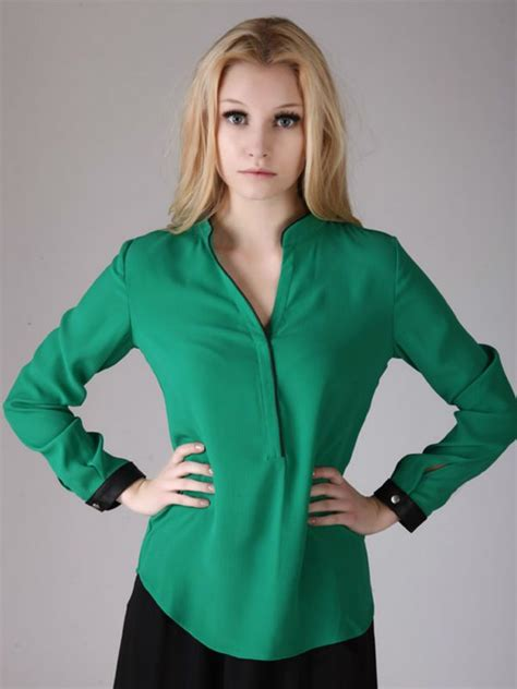 blusas para uniformes elegantes las 25 mejores ideas sobre blusas de chifon elegantes en