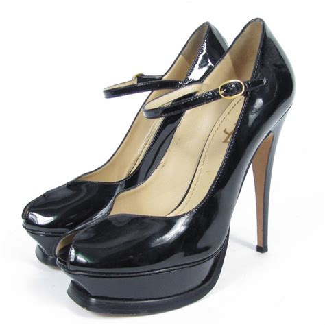 Yves Laurent Tribute Pumps Could They Be Any Hotter by Yves Laurent Ysl Tribute Janes Black Patent