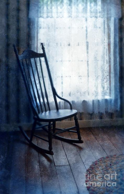 window chair rocking chair by window photograph by battaglia