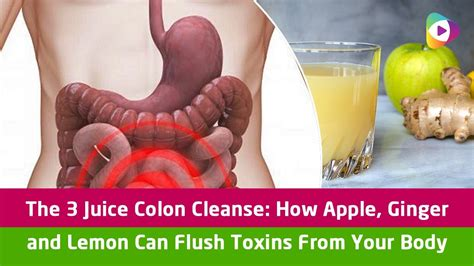 Does The Apple Lemon Detox Work by The 3 Juice Colon Cleanse How Apple And Lemon Can