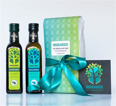 The Shop Gift Duo D Gardenia the drizzle dip duo gift set mokhado