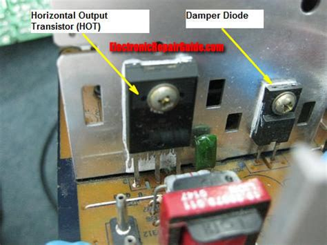 horizontal output transistor keeps blowing monitor high voltage