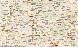 Tennessee Maps by Tennessee Map