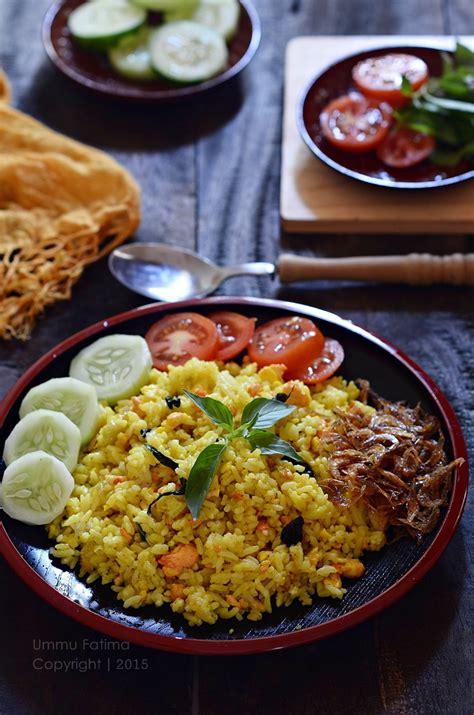 simply cooking  baking nasi goreng kunyit kemangi ebi