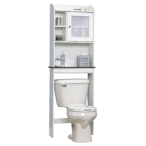 white above toilet storage medicine cabinet with