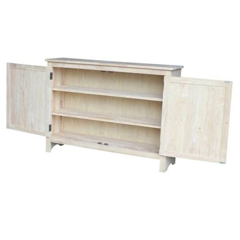 Unfinished Vanity Table by Unfinished Vanity Table International Concepts Home