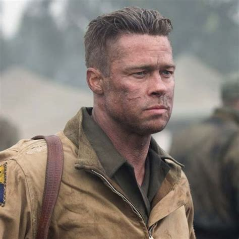 fury guys haircuts 17 best ideas about brad pitt fury haircut on pinterest