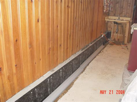 woods basement systems inc photo album installing