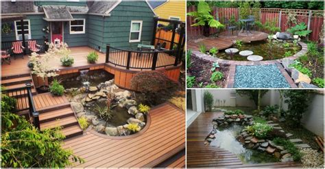 11 Enchanting Deck Ponds You Must See Today