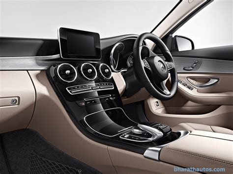 mercedes dealership inside 2015 mercedes benz c class launched from rs 40 90 lakh