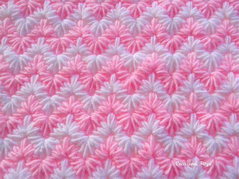 zig zag puff stitch pattern crochet pattern baby blanket crochet zig zag puff stitch