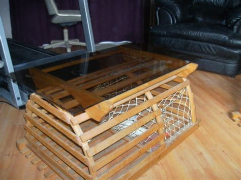 lobster trap coffee table simply beautiful coffee