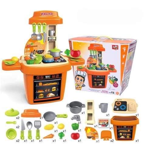 set cuisine enfant enfants set de jouets cuisine cadeau de no 235 l de b 233 b 233