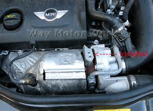 Mini Cooper Heat Shield Turbo Line Heat Shield Way Motor Works