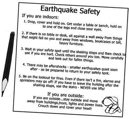 4 important earthquake facts for kids and students