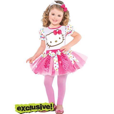hello kitty toddler halloween costume girls pink hello kitty costume