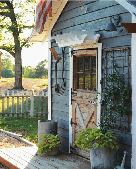 ideas  cottage garden sheds  pinterest