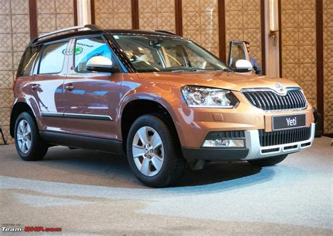 skoda yeti facelift launched in india at 18 63 lakhs