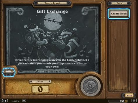 Hearthstone Gift Cards - hearthstone players can now enjoy a gift exchange in the newest tavern brawl frappie