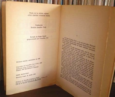 libro ena la novela el imperio contraataca libro novela donald f glut 290 00 en mercado libre