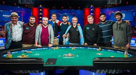2017 Wsop Event Table All You Need To