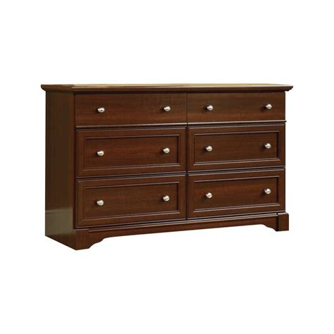Cherry Bedroom Dresser 6 Drawer Dresser In Cherry 411830