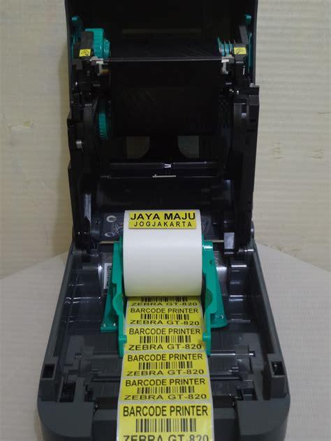 Adaptor Printer Barcode Zebra Gt 820 jual barcode printer zebra gt 820 jaya maju