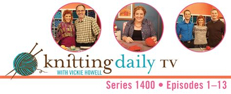 knitting daily tv pbs pre order the next season of kdtv vickie howell