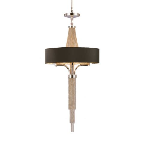 Black Hanging Chandelier The Langan Large Chandelier Pendant Buy From Lightplan