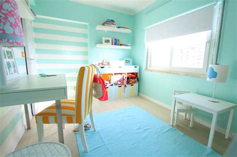 turquoise walls contemporary s room cox paint