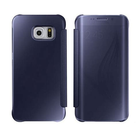 Flipcover S Clear Samsung S6s6 Edge mirror smart view clear flip phone cover for samsung galaxy s6 s6 edge new ebay