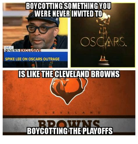 Cleveland Brown Memes - 25 best memes about cleveland browns and spike lee