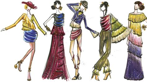 A Fashionable by Fashion Illustration Thoughts