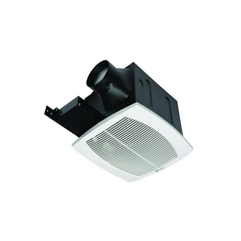 quiet bathroom exhaust fan with led light nutone qtxn series very quiet 110 cfm ceiling exhaust fan