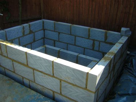 concrete bathtub diy building a hot tub