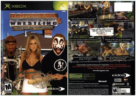 backyard wrestling xbox 360 backyard wrestling vhs specs price release date redesign
