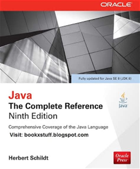 java reference book names java the complete reference 9th edition by herbert schildt