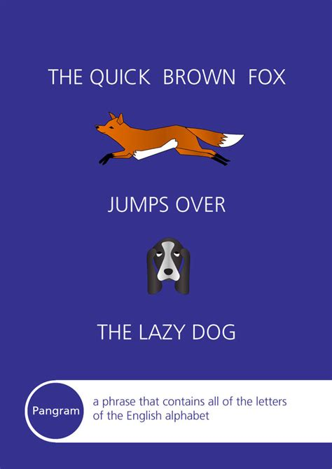 the fox jumped the lazy the brown fox jumps the lazy by yathish on deviantart