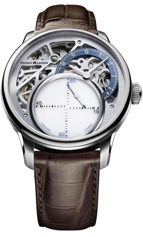 maurice lacroix masterpiece seconde mysterieuse skeleton