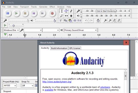 free full version audacity software download audacity 2 1 3 official windows 10 support last xp