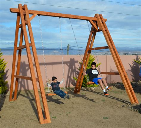 giant swing set rory s giant playground swing set forever redwood