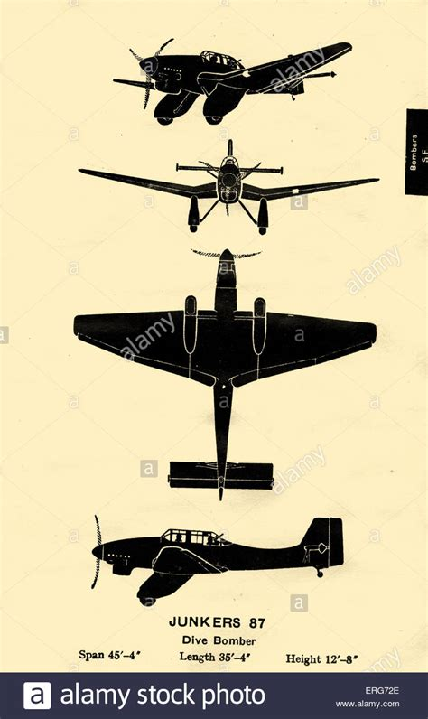 dive bomber junkers ju 87 or stuka a german dive bomber used by the