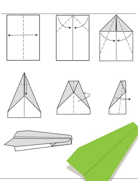 Origami Avion - diagramme d origami d avion planeur en papier mod 232 le 1
