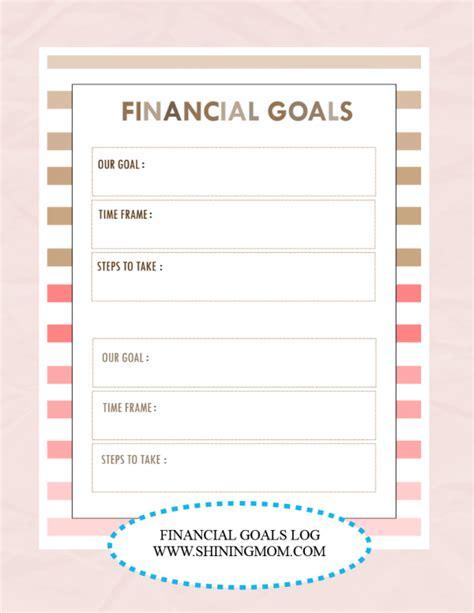 printable 2016 goal planner 2016 goal setting printable calendar template 2016
