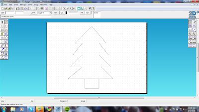layout grid 2d tab cad progression making curved lines using contour lines