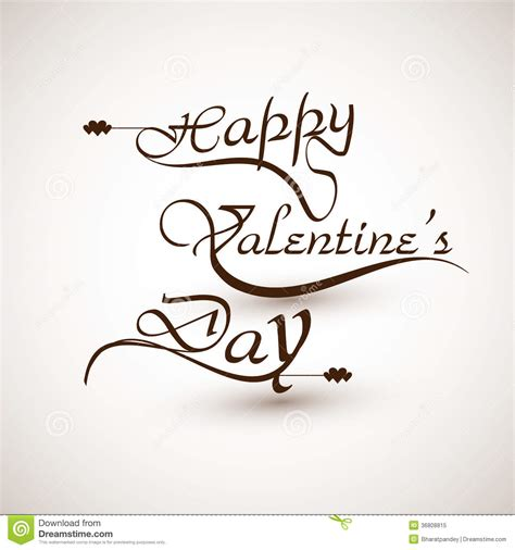happy valentines day font happy valentines day calligraphic font design royalty free