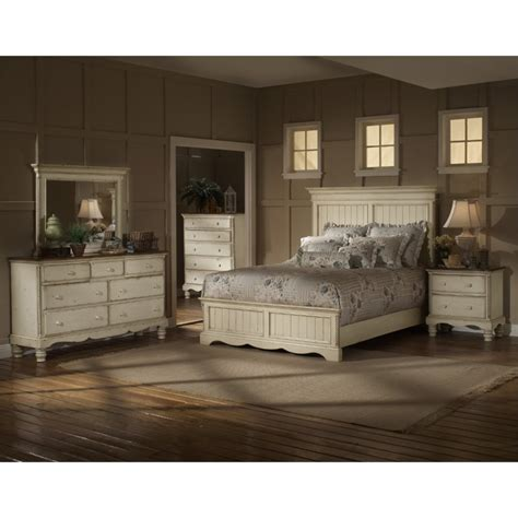 antique queen bedroom set hillsdale wilshire 4 piece queen bedroom set in antique