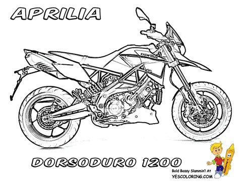 Motorcycle Coloring Book Pages Street Bikes Free Motorcycle Coloring Pages