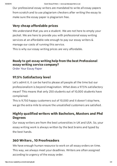 Professional Essay Writing Service by Professional Essay Writing Help Essay Writers Www Quickessayw