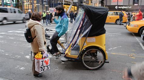 nyc putting foot down on pedicab fares after texas tourists are more than a quarter of pedicab drivers have quit since new